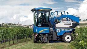 Picture of New Holland presenta la nueva gama compacta de vendimiadoras Braud