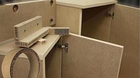 Foto de Aidima define una ecuación que determina los cortes para curvar el mobiliario de tablero alvéolar