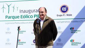 Fotografia de Iberdrola inaugura en M�xico el parque e�lico Pier II
