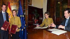 Foto de La FEV y el Ministerio de Agricultura refuerzan sus relaciones con la firma de un convenio de colaboraci�n hasta 2018