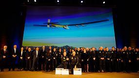 Foto de Covestro renueva su colaboraci�n con Solar Impulse hasta 2018
