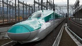 Foto de Los trenes de alta velocidad utilizan rodamientos NSK de alto rendimiento