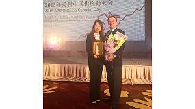Foto de Trelleborg recibe el Premio AGCO 2015 a la Mejor Prestación de Calidad en China y el Premio EAME 2015 al Proveedor de Logística del Año