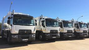 Foto de Renault Trucks contribuye a la mejora en la gestión de residuos de la Comunidad de Extremadura