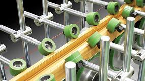 Foto de Línea de recubrimiento para perfiles de PVC, aluminio y otros metales PUR 33 PVC de Barberán con cambio rápido de herramientas