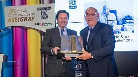 Foto de Aseigraf celebra su V Cena de Empresarios - Homenaje 'Gráficos 50 años'