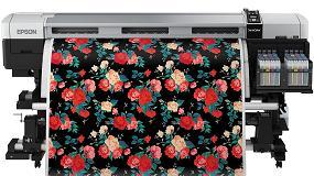 Foto de Epson muestra su última tecnología flexible para decoración de interiores en Heimtextil