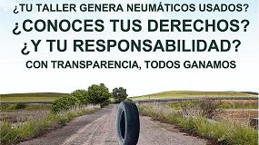 Foto de TNU presenta su nueva campaña de derechos y responsabilidades sobre los neumáticos usados