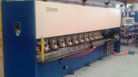 Foto de Lomusa entrega una máquina fresadora para V-Cut en Aragón