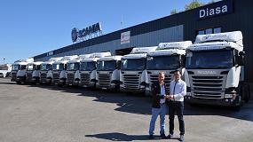 Foto de Transportes Avícolas Manso confía el 100% de su flota a Scania