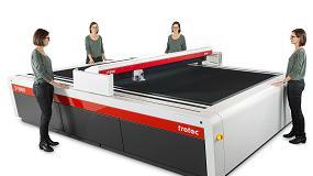 Foto de Trotec presenta su cortadora láser de gran formato más grande
