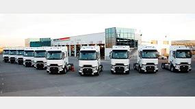 Foto de Transportes Aranda refuerza su flota y su compromiso con la eficiencia con 12 nuevos Renault Trucks T 520