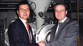 Foto de NOX Corporation equipa su nueva fábrica de EE UU con un extrusora de rodillos planetarios de Battenfeld-cincinnati