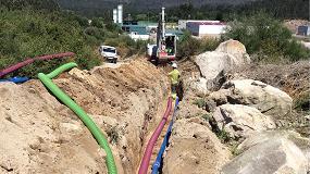 Foto de Saint-Gobain Pam abastece de tubería de fundición dúctil a la red gallega de A Lama