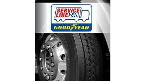 Picture of Goodyear lanza la aplicaci�n ServiceLine 24h para una asistencia en carretera a�n m�s r�pida