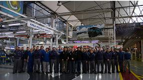 Foto de Pep Vila se re�ne con los trabajadores de la planta de CNH Industrial en Madrid