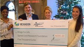Fotografia de Hexagon Manufacturing Intelligence mantiene su apoyo a Wings for Life