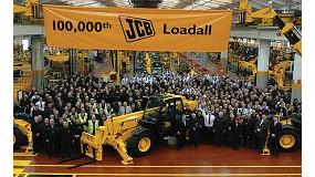 Fotografia de JCB celebra el seu Loadall n º 100.000
