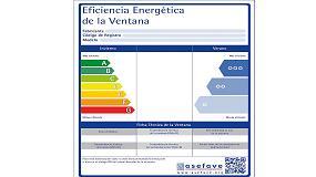 Foto de La etiqueta de Asefave en el Plan Renove de ventanas de la Comunidad Valenciana