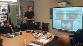 Foto de Los cursos de formación de NSK mejoran el conocimiento sobre rodamientos en Gilkes