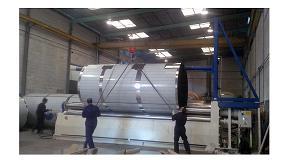 Foto de Lomusa entrega un cilindro de 6 metros de longitud