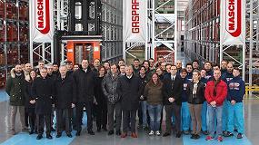 Foto de Maschio Gaspardo inaugura el nuevo almacén central de recambios