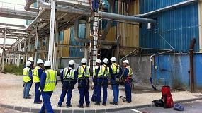 Foto de En su apuesta por la seguridad industrial, Brammer acumula casos de éxito en instalaciones de sistemas anticaídas