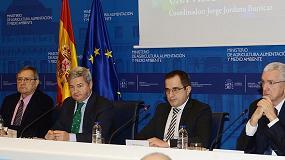 Foto de Fernando Burgaz subraya la importancia del sector agroalimentario y pesquero español en la economía nacional y en los mercados exteriores
