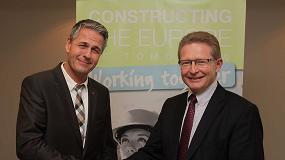 Foto de Bernd Holz (Ammann, SVSS) asume la Presidencia de CECE