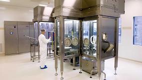 Foto de Robots en la producción aséptica de medicamentos