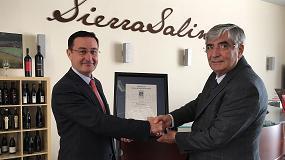 Foto de MGWines obtiene el certificado de gestión de calidad AENOR