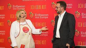 Foto de La fresa europea se promociona en Alemania