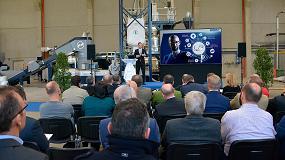 Foto de La industria internacional del plástico, representada en la inauguración del UpCentre de Erema