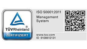 Foto de Kömmerling obtiene la Certificación del Sistema de Gestión Energética (ISO 50001)