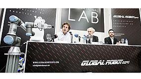Foto de Robotplus, presente en el Global Robot Expo