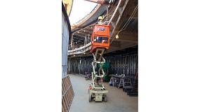 Foto de JLG revoluciona el sector de las tijeras eléctricas con su gama RS