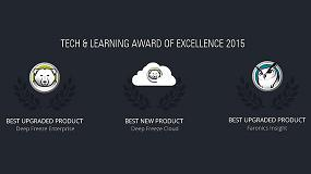 Fotografia de Faronics Deep Freeze, Deep Freeze Cloud e Insight obtienen los Premios de la Excelencia de Tech & Learning 2015