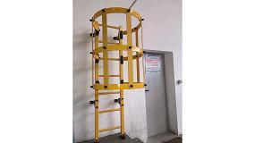 Foto de Iverna 2000 presenta en Smagua 2016 su nueva escalera Iverplastic