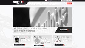 Foto de Haulotte Group lanza sus nuevas páginas web con un diseño completamente renovado