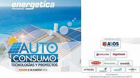 Picture of Jornada �Autoconsumo, Tecnolog�as y proyectos�, �ltimos d�as para la inscripci�n