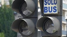 Fotografia de El 80% del tiempo que un autob�s est� parado es por culpa de los sem�foros