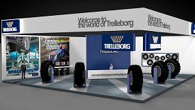 Foto de Trelleborg presenta su amplia gama de soluciones de ruedas completas en FIMA