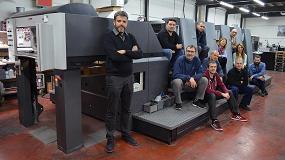Foto de Black Horse Machinery vende una 5 colores Heidelberg Speedmaster