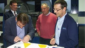 Foto de Cianoplan, primera empresa de Euskadi en instalar una máquina de impresión digital multisoporte de MGI
