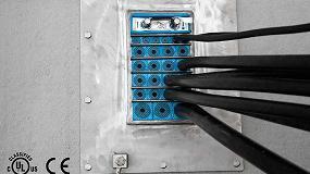 Picture of Roxtec desarrolla el marco GH que iguala la entrada de cables y tuber�as en la pared