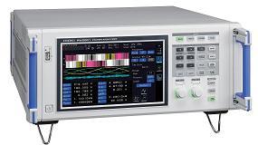 Picture of Instrumentos de Medida presenta el analizador de potencia PW6001