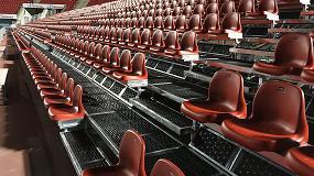 Fotografia de Nueva grada en el fondo norte del estadio del RCD Mallorca
