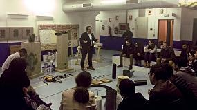 Foto de Mapei acoge una clase del Máster de Rehabilitación y Restauración Arquitectónica de La Salle-URL