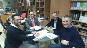 Foto de Ecolec y UCA-UCE firman un convenio para aumentar la sensibilización respecto a los RAEE