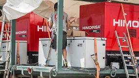 Foto de Grupos electrógenos Himoinsa en las electrolineras del vehículo eléctrico Acciona Ecopowered